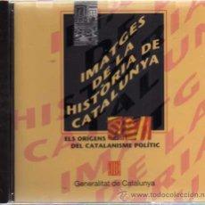Libros de segunda mano: CD ROM - IMATGES DE LA HISTÒRIA DE CATALUNYA - ELS ORÍGENS DEL CATALANISME POLÍTIC - GENERALITAT.... Lote 30638308