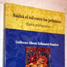 Libros de segunda mano: SALDRA EL SOL ENTRE LOS PEÑASCOS - HISTORIA DE TLAXCALA I. Lote 30678500