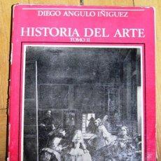 Libros de segunda mano: HISTORIA DEL ARTE DE ANGULO. 2 TOMOS. Lote 30687304