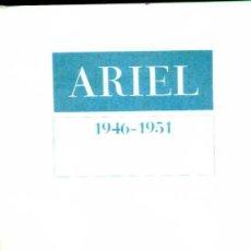 Libros de segunda mano: ARIEL REVISTA DE LES ARTS 1946-1951 EDICIÓ FACSÍMIL (PROA, 1978) GRAN FORMATO. Lote 30790998