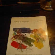 Libros de segunda mano: ARTURO USLAR PIETRI, 33 CUENTOS. PUBLICACION DE PETROLEOS DE VENEZUELA,1986. Lote 30845585