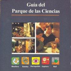 Libros de segunda mano: GUÍA DEL PARQUE DE LAS CIENCIAS DE GRANADA. Lote 38507107