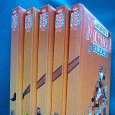 Libros de segunda mano: MORTADELO Y FILEMON. LAS MEJORES HISTORIETAS - 5 TOMOS COMPLETA - HUMOR. COMIC. CLASICO - 1991. Lote 30871206