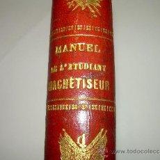 Libros de segunda mano: MANUEL DE L'ETUDIANT MAGNETISEUR......AÑO 1868. Lote 30881538