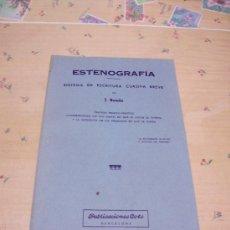 Libros de segunda mano - ESTENOGRAFÍA - J. BOADA - PUBLICACIONES COTS 1976 - 30985383