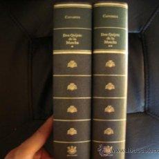 Libros de segunda mano: DON QUIJOTE DE LA MANCHA 2 TOMOS.RBA.NUEVOS.. Lote 31027093