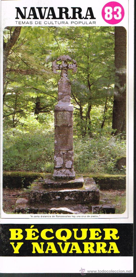 NAVARRA. BECKER Y NAVARRA - TEMAS DE CULTURA POPULAR Nº 83 (Libros de Segunda Mano - Historia - Otros)