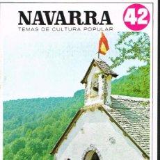 Libros de segunda mano: NAVARRA. ROMERÍAS - TEMAS DE CULTURA POPULAR Nº 42. Lote 31039928