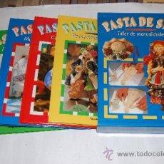 Libros de segunda mano: PASTA DE SAL. TALLER DE MANUALIDADES. CUATRO TOMOS. NIKOLE KRAEHN, NROGOTTE CASAGRANDA RM57343. Lote 31067308