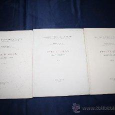 Libros de segunda mano: 0946- 'PERE EL GRAN PRIMERA PART: L'INFANT VOLS. 1,2 I 3' PER FERRAN SOLDEVILA 1950/52/56. Lote 31069916