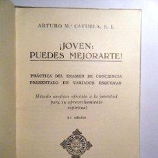 Libros de segunda mano: JOVEN : PUEDES MEJORARTE. Mª CAYUELA, A.. Lote 31139152