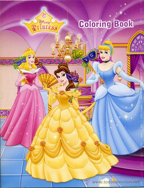 cuaderno para colorear   disney princess   poes   Buy Other Books