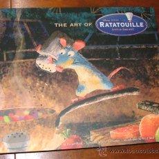 Libros de segunda mano: LIBRO 'THE ART OF RATATOUILLE' (KAREN PAIK, JOHN LASSETER, BRAD BIRD) PIXAR. Lote 31224884