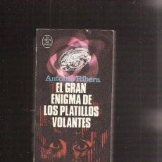 Libros de segunda mano: EL GRAN ENIGMA DE LOS PLATILLOS VOLANTES. Lote 31237304