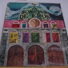 Libros de segunda mano: LA SONRISA DE EROS JUAN PERUCHO TABER 1968 MAS DE 150 PAG TODAS CON FOTOGRAFIAS. Lote 31285755