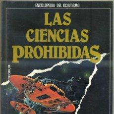 Libros de segunda mano: LAS CIENCIAS PROHIBIDAS: EL LIBRO NEGRO DE LOS OVNIS (QUORUM 1987). Lote 53560888