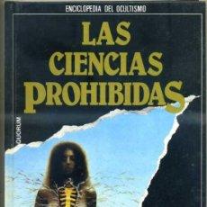 Libros de segunda mano: LAS CIENCIAS PROHIBIDAS: ADIVINACIÓN, LOS SECRETOS DEL VIDENTE (QUORUM 1987). Lote 31277712
