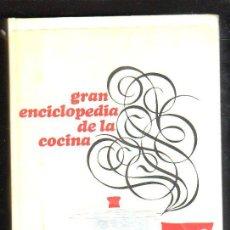 Libros de segunda mano: GRAN ENCICLOPEDIA DE LA COCINA POR CARLO SANTI - CIRCULO DE LECTORES, 1969. Lote 74294134