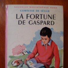 Libros de segunda mano: LA FORTUNE DE GASPART - POR COMTESSE DE SÉGUR - 1931 - 256 PAG. (EN FRANCES).. Lote 31336326