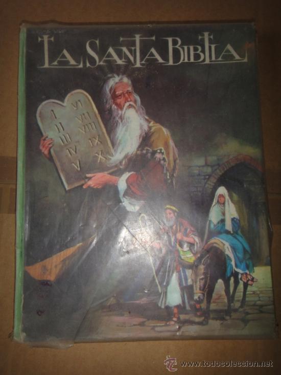 LA SANTA BIBLIA EDITORIAL VASCO 1972 (Libros de Segunda Mano - Literatura Infantil y Juvenil - Otros)