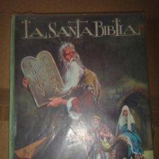 Libros de segunda mano: LA SANTA BIBLIA EDITORIAL VASCO 1972. Lote 31400847