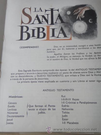 Libros de segunda mano: LA SANTA BIBLIA EDITORIAL VASCO 1972 - Foto 2 - 31400847