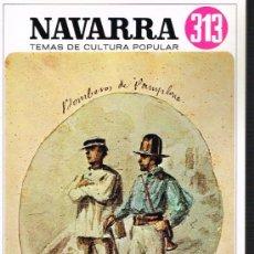 Libros de segunda mano: NAVARRA. IRUÑERIAS VII. TEMAS DE CULTURA POPULAR Nº 313. Lote 31431618
