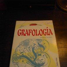 Libros de segunda mano: ARANTXA G. DE CASTRO, GRAFOLOGIA, LIBSA, 2002. Lote 31521776