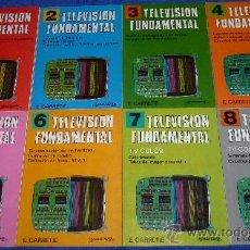 Libros de segunda mano: TELEVISIÓN FUNDAMENTAL - E.CARRETIE - 8 TOMOS - PARANINFO ¡IMPECABLES!. Lote 31545492