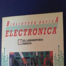 Libros de segunda mano: BIBLIOTECA BASICA ELECTRONICA LOTE DE 19 EJEMPLARES EDITA NUEVA LENTE 1986. Lote 31568389