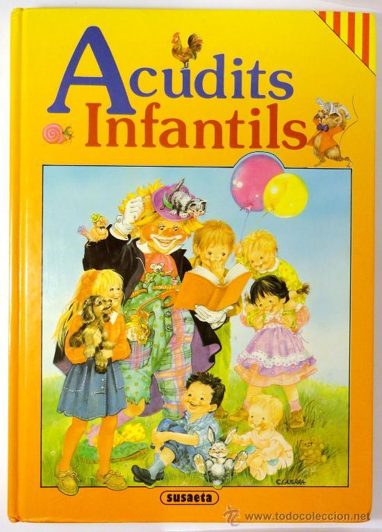 ACUDITS INFANTILS, CHISTES INFANTILES EN CATALÀ, SUSAETA EDICIONES, 1990 (Libros de Segunda Mano - Literatura Infantil y Juvenil - Otros)