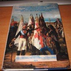 Libros de segunda mano: PAPELES DE LA GUERRA DE LA INDEPENDENCIA 2.ASTURIAS 1808-1810.-DOCUMENTOS DE HISTORIA DE ASTURIAS . Lote 31603422