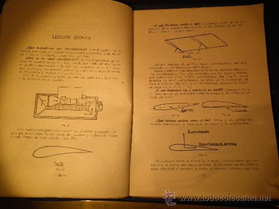 Libros de segunda mano: INSTRUCCIÓN AERONAUTICA PRELIMINAR, NOCIONES DE AEROMODELISMO. - Foto 3 - 31603340
