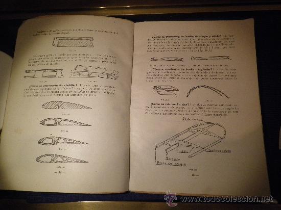 Libros de segunda mano: INSTRUCCIÓN AERONAUTICA PRELIMINAR, NOCIONES DE AEROMODELISMO. - Foto 4 - 31603340