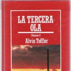 Libros de segunda mano: LA TERCERA OLA - ALVIN TOFFLER - VOL. I - MUY INTERESANTE - BIBLIOTECA DIVULGACION CIENTIFICA. Lote 31670988