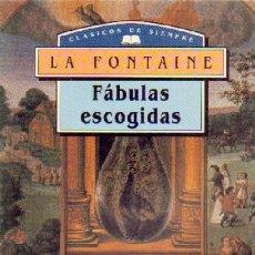 Libros de segunda mano: FABULAS ESCOGIDAS L-849. Lote 97258034