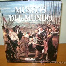 Libros de segunda mano: MUSEOS DEL MUNDO...DEL PRADO, LOUVRE, VATICANO Y MUSEO DEL ERMITAGE. Lote 31866552