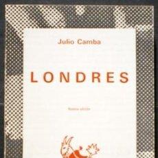 Libros de segunda mano: LONDRES - JULIO CAMBA - ESPASA-CALPE (AUSTRAL) 1973. Lote 34074048