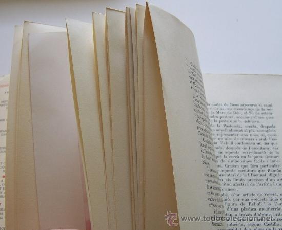 Libros de segunda mano: Reus 1960 L' ESCULTOR JOAN REBULL J. Selva i Vives 93 pag + 26 fotografias - Foto 3 - 31897658
