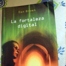 Libros de segunda mano: LIBRO DE DAN BROWN-LA FORTALEZA DIGITAL-BOOKS4POCKET 181-2006. Lote 31931388