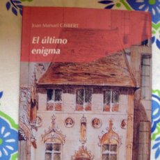 Libros de segunda mano: LIBRO DE JOAN MANUEL GISBERT-EL ÚLTIMO ENIGMA-EDELVIVES, 27 SUEÑOS DE PAPEL 2001.. Lote 31931470