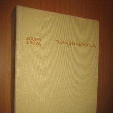 Libros de segunda mano: TEORÍA DE LA LITERATURA - VICTOR MANUEL DE AGUILAR Y SILVA. Lote 32193309