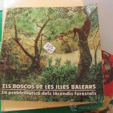 Libros de segunda mano: ELS BOSCOS DE LES ILLES BALEARS SA NOSTRA . Lote 32139270