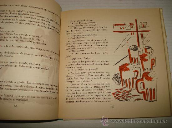 Libros de segunda mano: Antiguo Libro PERIQUÍN Y GUSTAVÍN de Eduardo Vazquez del Año 1961. - Foto 4 - 31967890