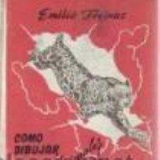 Livres d'occasion: CÓMO DIBUJAR ANIMALES SALVAJES (FÉLIDOS) EMILIO FREIXAS GASTOS DE ENVIO GRATIS. Lote 31975953