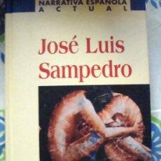 Libros de segunda mano: LIBRO DE JOSÉ LUIS SAMPEDRO-EL AMANTE LESBIANO NARRATIVA ESPAÑOLA ACTUAL-PLANETA DEAGOSTINI 2002. Lote 32035334