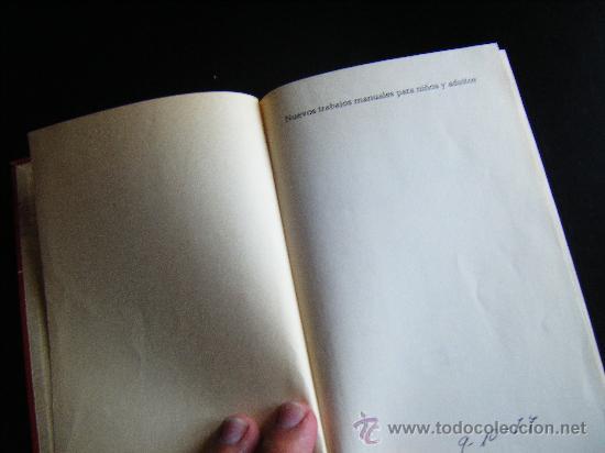 Libros de segunda mano: LIBRO MICHAEL BRIX. NUEVOS TRABAJOS MANUALES PARA NIÑOS Y ADULTOS. CIRCULO DE LECTORES. 1974. - Foto 2 - 32051797
