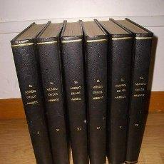 Libros de segunda mano: EL MUNDO DE LOS MUSEOS - 6 GRANDIOSOS TOMOS - MUY ILUSTRADOS A TODO COLOR. Lote 32061362