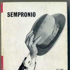 Libros de segunda mano: SEMPRONIO : QUAN BARCELONA PORTAVA BARRET (SELECTA, 1984) EN CATALÁN. Lote 32073401
