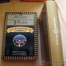 Libros de segunda mano: 2 LIBROS, LA CUARTA K MARIO PUZO-COMO LOS CUERVOS JEFFREY ARCHER BEST SELLER GRIJALBO1991. Lote 32097620